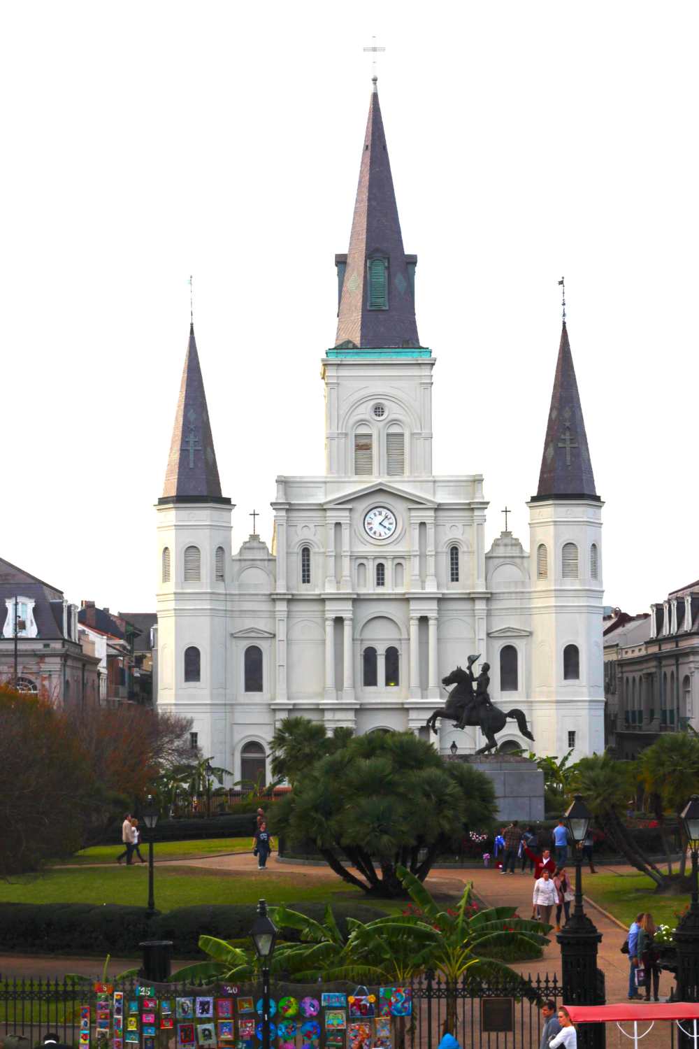You will definitely want to visit Jackson Square, a National Historic Landmark. St. Louis Cathedral can be found here and let me tell you it is just as spectacular on the inside as it is on the outside.