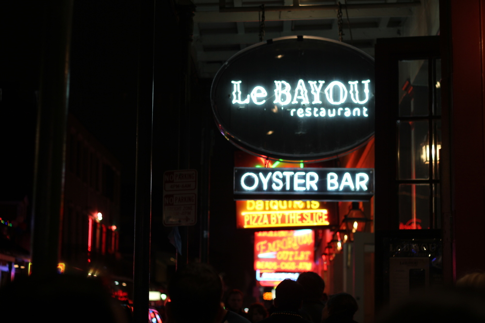 If you're looking for nightlife this is where you'll find it! Bourbon Street is full of bars, restaurants, and (one thing I didn't know was super popular) strip clubs.